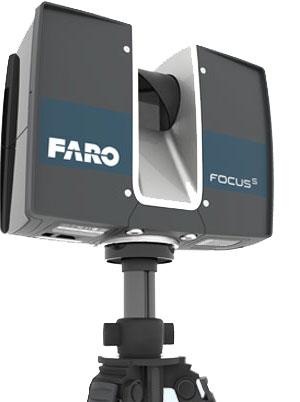 Laserscanning Faro